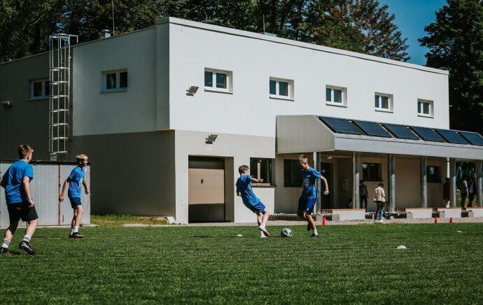 Nowy budynek przy Kresach oddany do użytku. Posłuży młodym zawodnikom Ruchu
