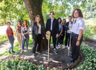 Koniec kadencji Młodzieżowej Rady Miasta. Na pożegnanie postawili hotele dla owadów