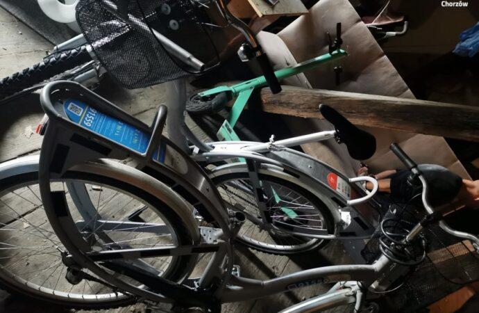 Złodziej rowerów trafił w ręce policji