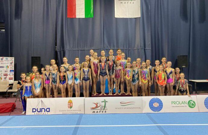 Udany start Sokolni na zawodach w Budapeszcie