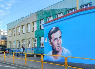 Nowy mural na Wolce. 20-lecie nadania imienia Szkole Podstawowej nr 21